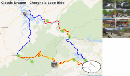 Classic Dragon - Cherohala Loop Ride
