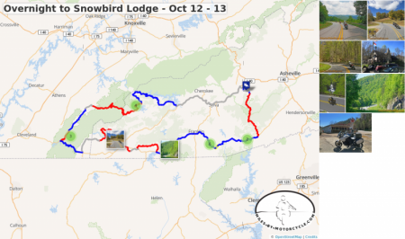 Overnight to Snowbird Lodge - Oct 12 - 13