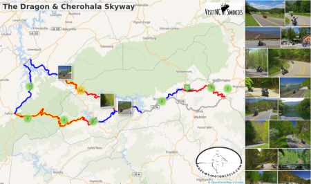 The Dragon & Cherohala Skyway