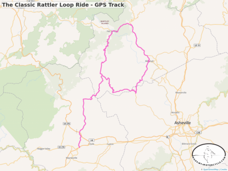 The Classic Rattler Loop Ride - GPS Track