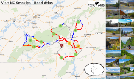 Visit NC Smokies - Road Atlas