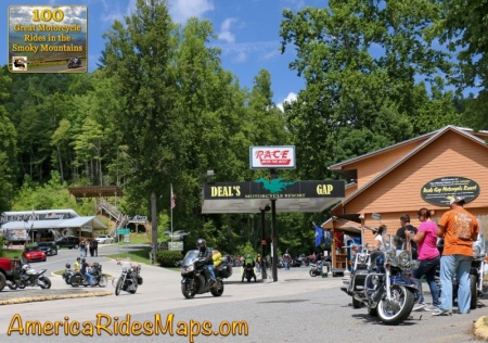 US 129 - Deals Gap Motorcycle Resort