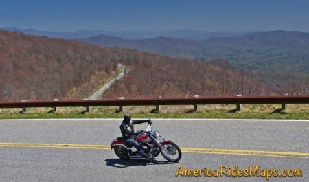 Cherohala Skyway view