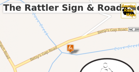 The Rattler Sign & Roadside Swag