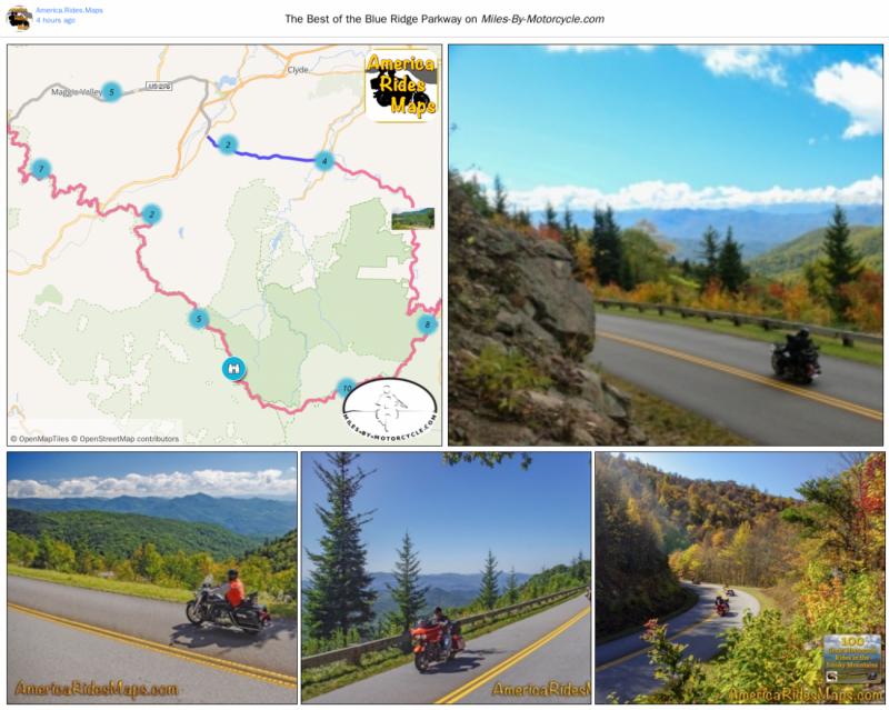 3 Best Motorcycle Rides Near Maggie Valley