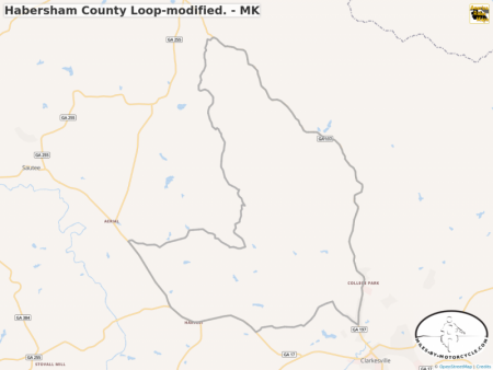 Habersham County Loop-modified. - MK