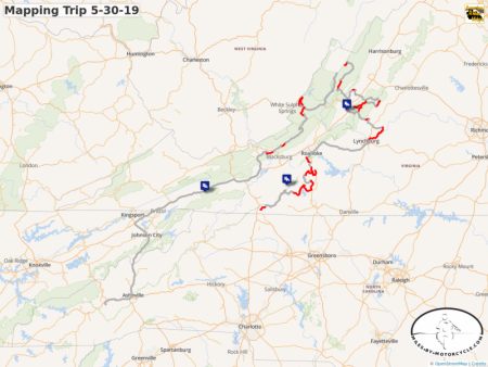 Mapping Trip 5-30-19