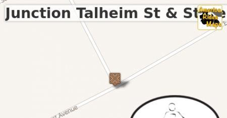 Junction Talheim St & State Line Rd (East Ave)