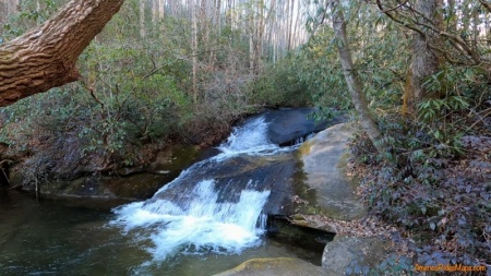 Lower Rockhouse Creek Falls