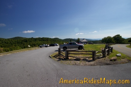 Graveyard Fields Overlook - MP 418.8