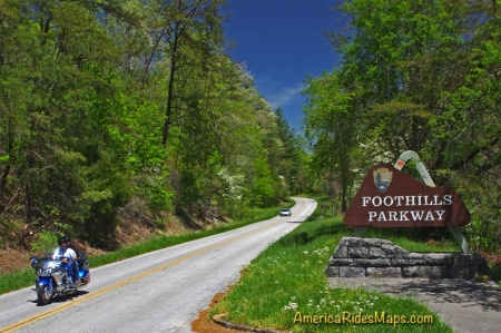 Tennessee Foothills Parkway