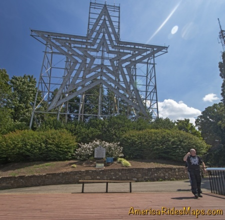 Roanoke Star, Mill Mountain, Roanoke, VA