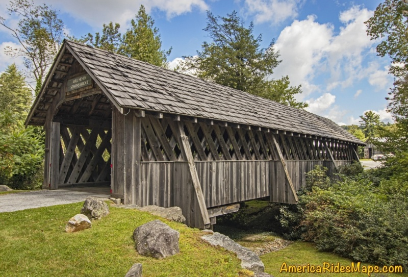Will Henry Stevens Covered Bridge at the Bascom Art Center