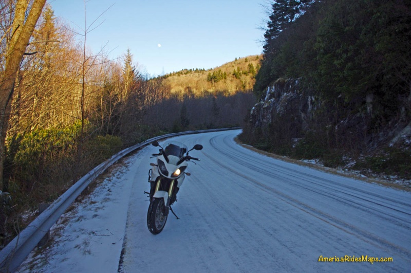 Winter Riding in the Smokies