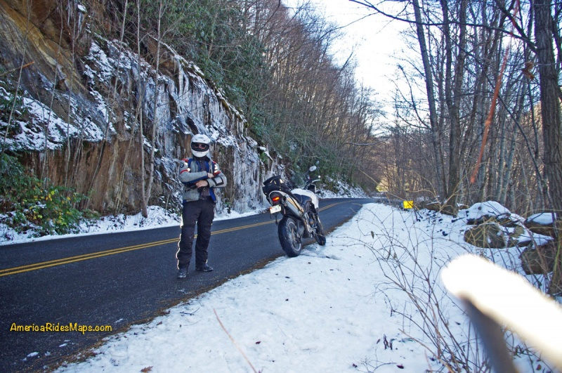 Winter Riding in the Blue Ridge
