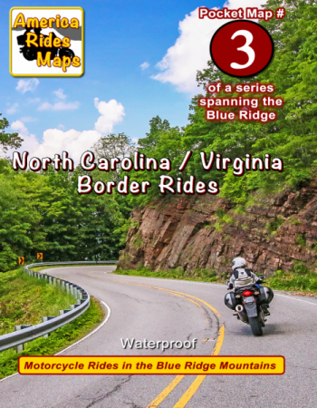 Map 3 - North Carolina / Virginia Border Rides