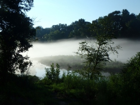 Morning Mist on the Water