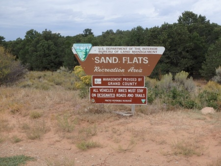 Sand Flats Recreation Area