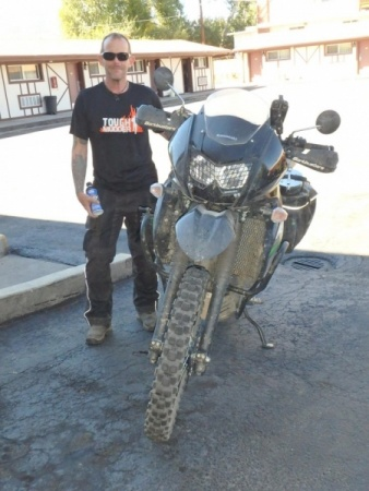 Allan and his KLR650