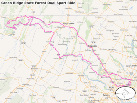 Green Ridge State Forest Dual Sport Ride