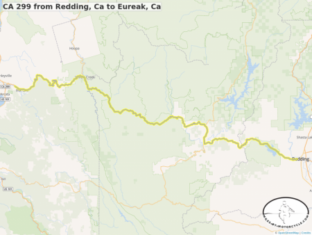 CA 299 from Redding, Ca to Eureak, Ca