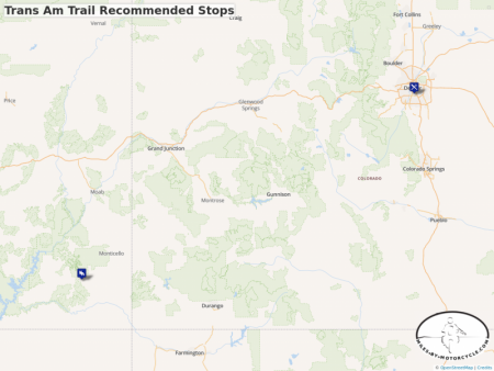 Trans Am Trail Recommended Stops