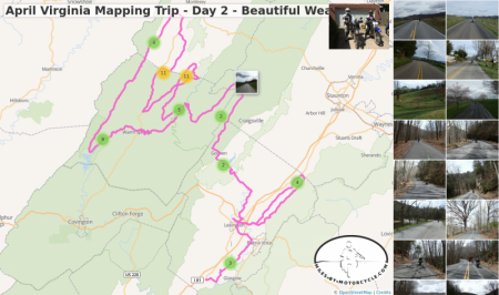 April Virginia Mapping Trip - Day 2 - Beautiful Weather