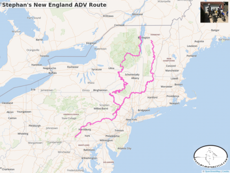Stephan's New England ADV Route