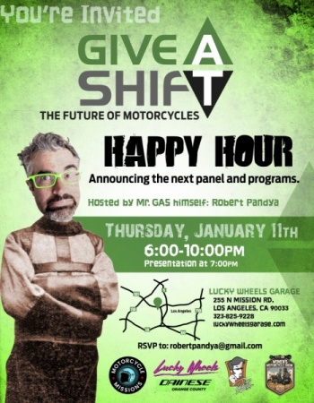 GAS Happy Hour Jan 11, 2018