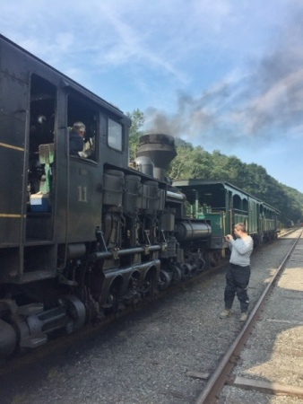Class, WV steam trains