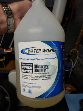 Water Works Heavy Duty Degreaser Concentrate 1 Gallon