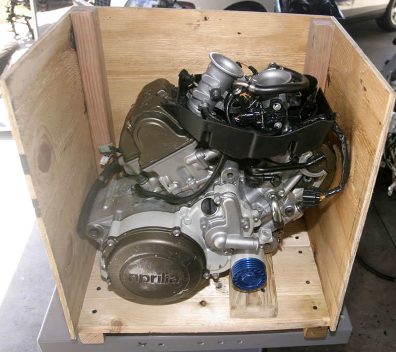 How to Crate a Motorcycle Engine